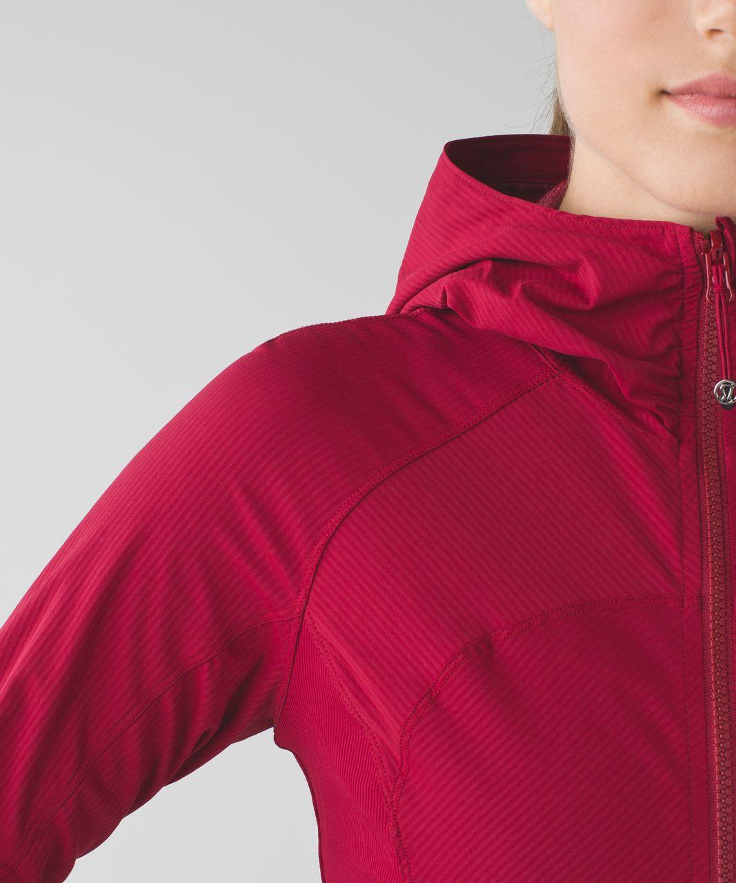 Lululemon In Flux Jacket - Cranberry