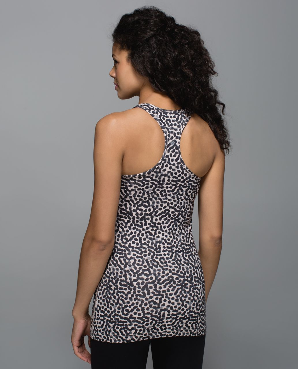 Lululemon Cool Racerback - Ace Spot Grain Black
