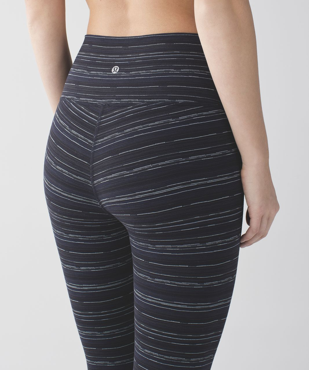 Lululemon High Times Pant - Cyber Stripe Naval Blue Black