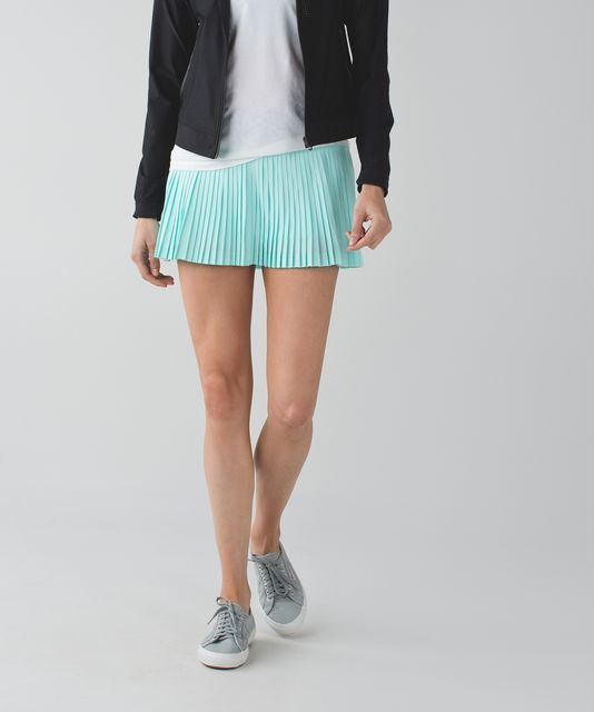 c525f821bf Pleat To Street Skirt II - Tranquil Blue / Ace Spot Tranquil Blue Black