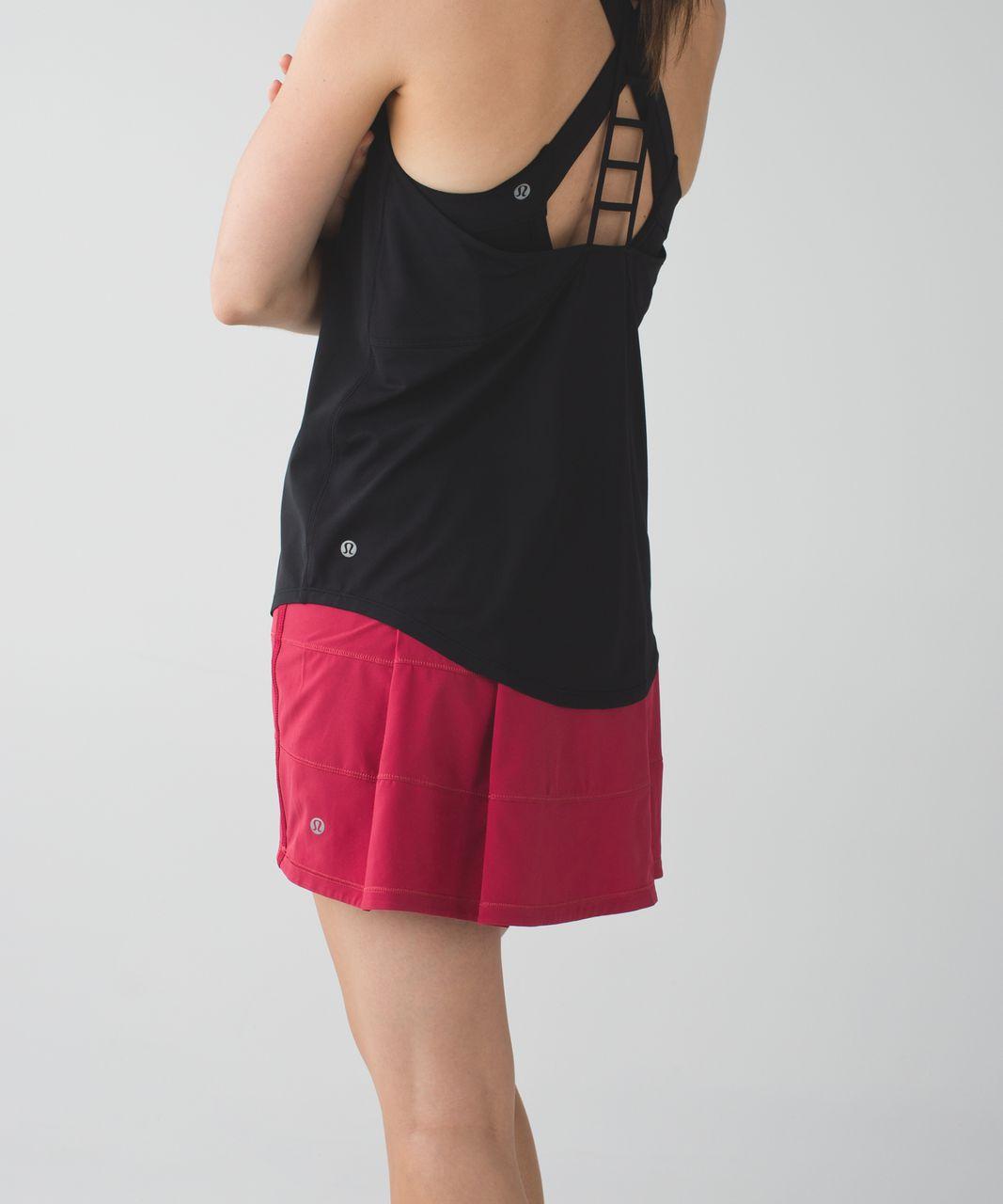 Lululemon Pace Rival Skirt II *4-way Stretch (Tall) - Cranberry / Mini Ziggy Snake Red Tide Cranberry