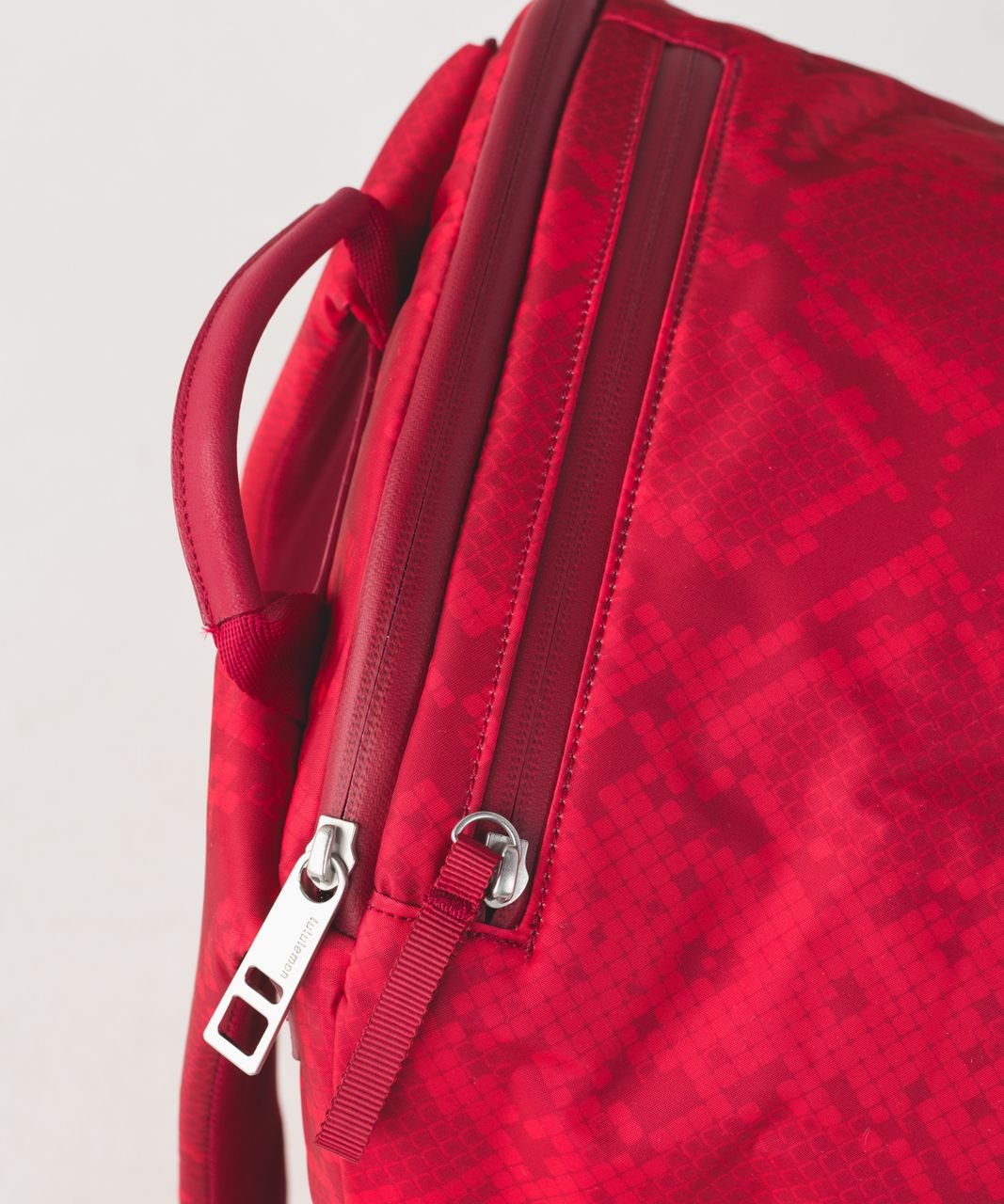 Lululemon Pack It Up Backpack - Simply Ziggy Snake Red Tide Cranberry / Cranberry