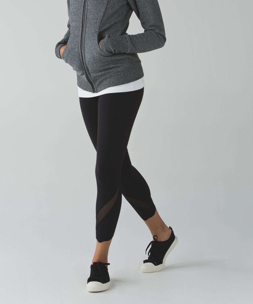 Lululemon Scuba Hoodie III (First Release) - Heathered Speckled Black