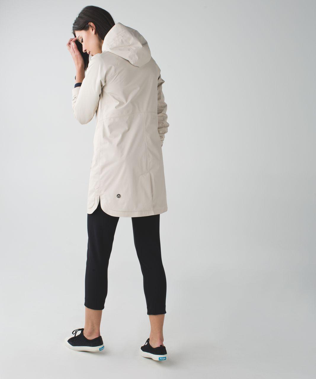 Lululemon Definitely Raining Jacket - Cashew