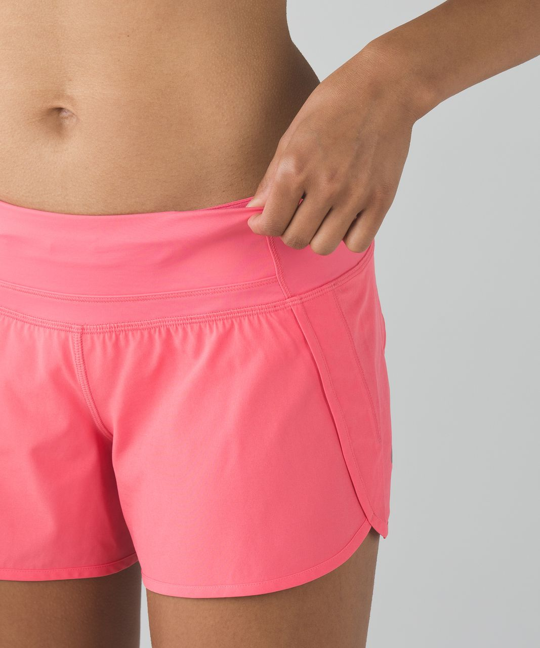 Lululemon Run Times Short *4-way Stretch - Pink Lemonade
