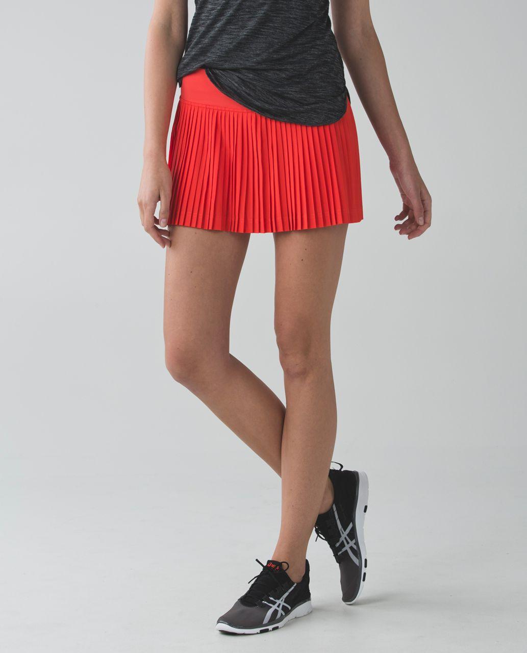 8253340a88 Lululemon Pleat To Street Skirt II - Alarming - lulu fanatics