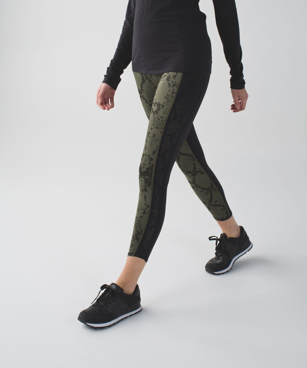 0b3c00505 Lululemon Beyond Boundaries Pant - Black   Ziggy Snake Butter Pink Black -  lulu fanatics