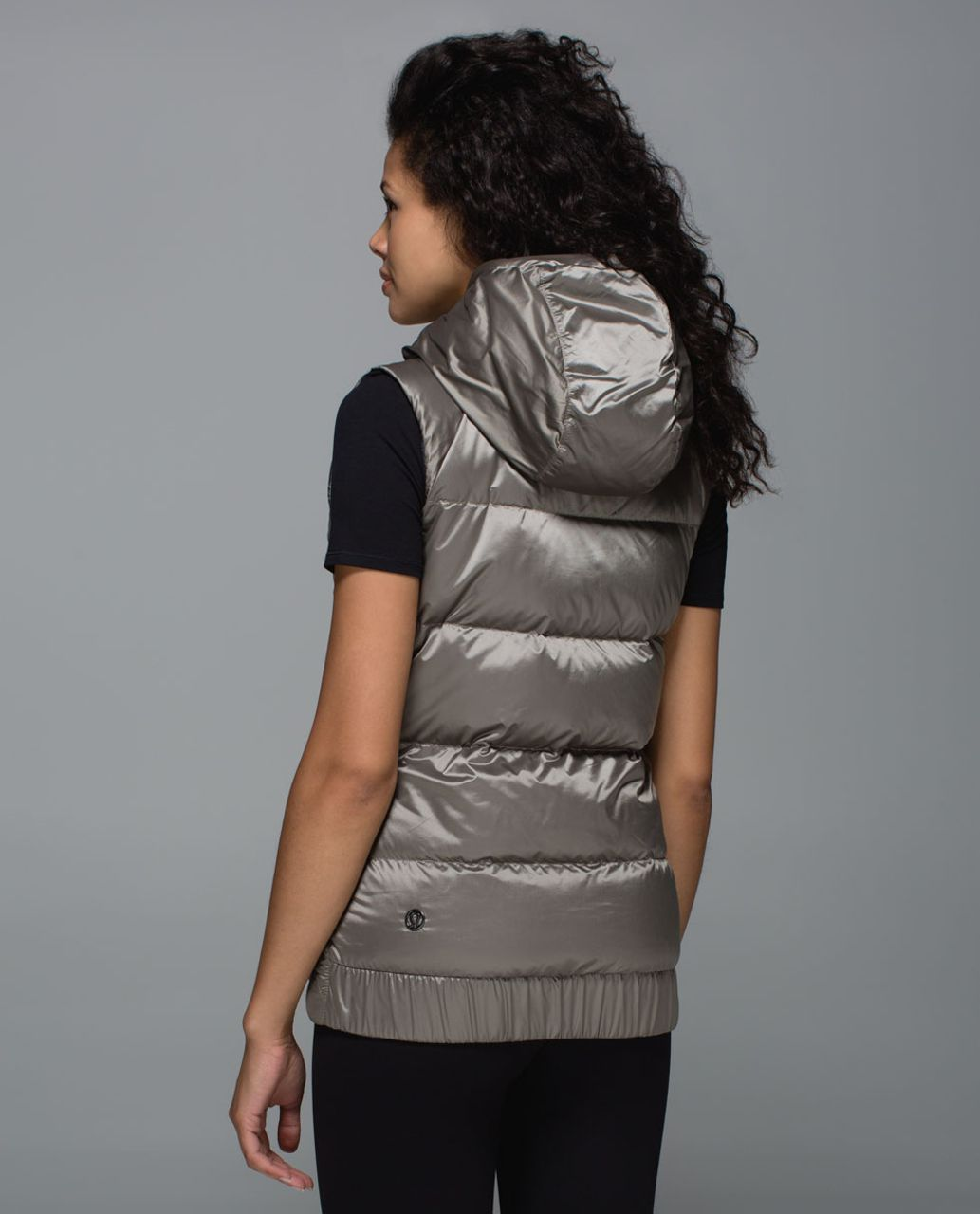 Lululemon The Fluffiest Vest - Cashew / Coast Camo Butter Pink Multi