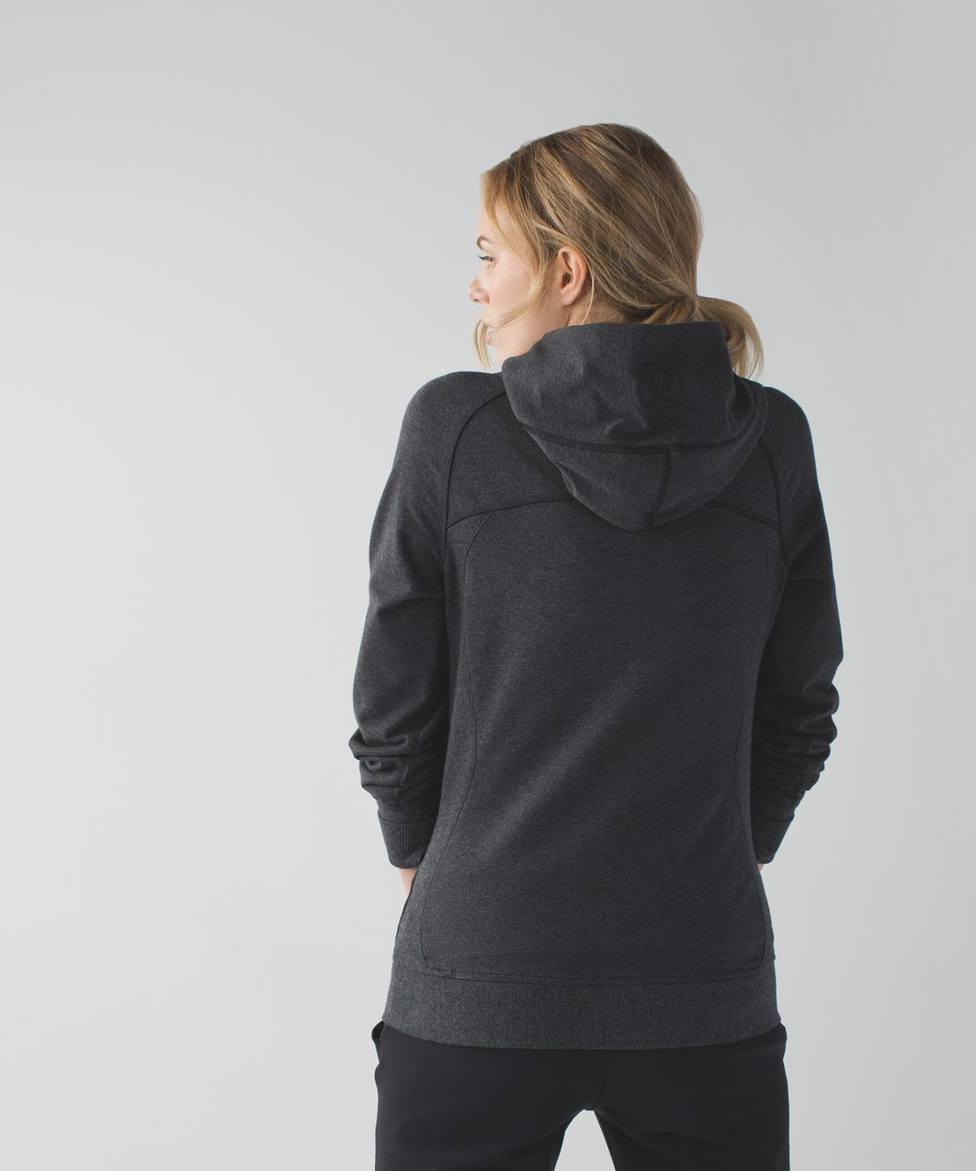 Lululemon Scuba Hoodie III *Terry - Heathered Black
