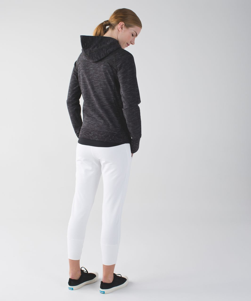 Lululemon Scuba Hoodie III *Terry - Heathered Marled Black