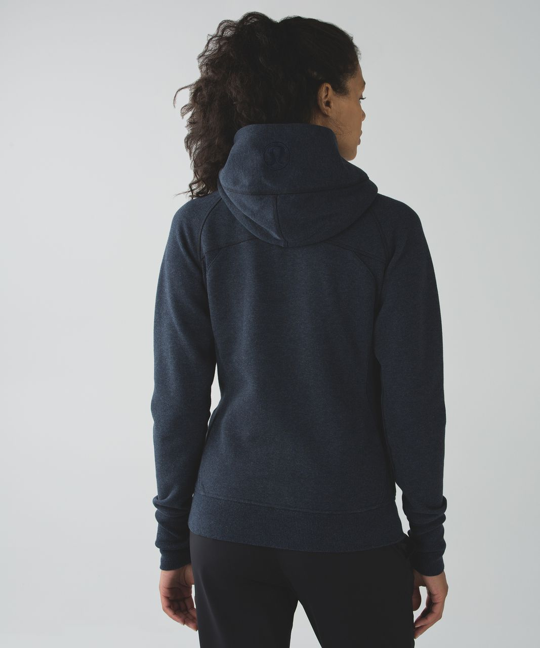 Lululemon Scuba Hoodie III (First Release) - Heathered Naval Blue