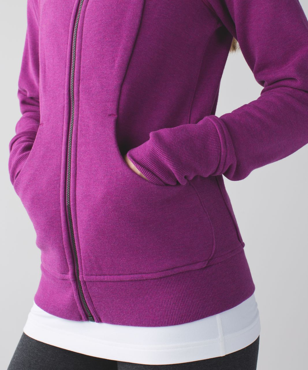Lululemon Scuba Hoodie III (First Release) - Heathered Regal Plum