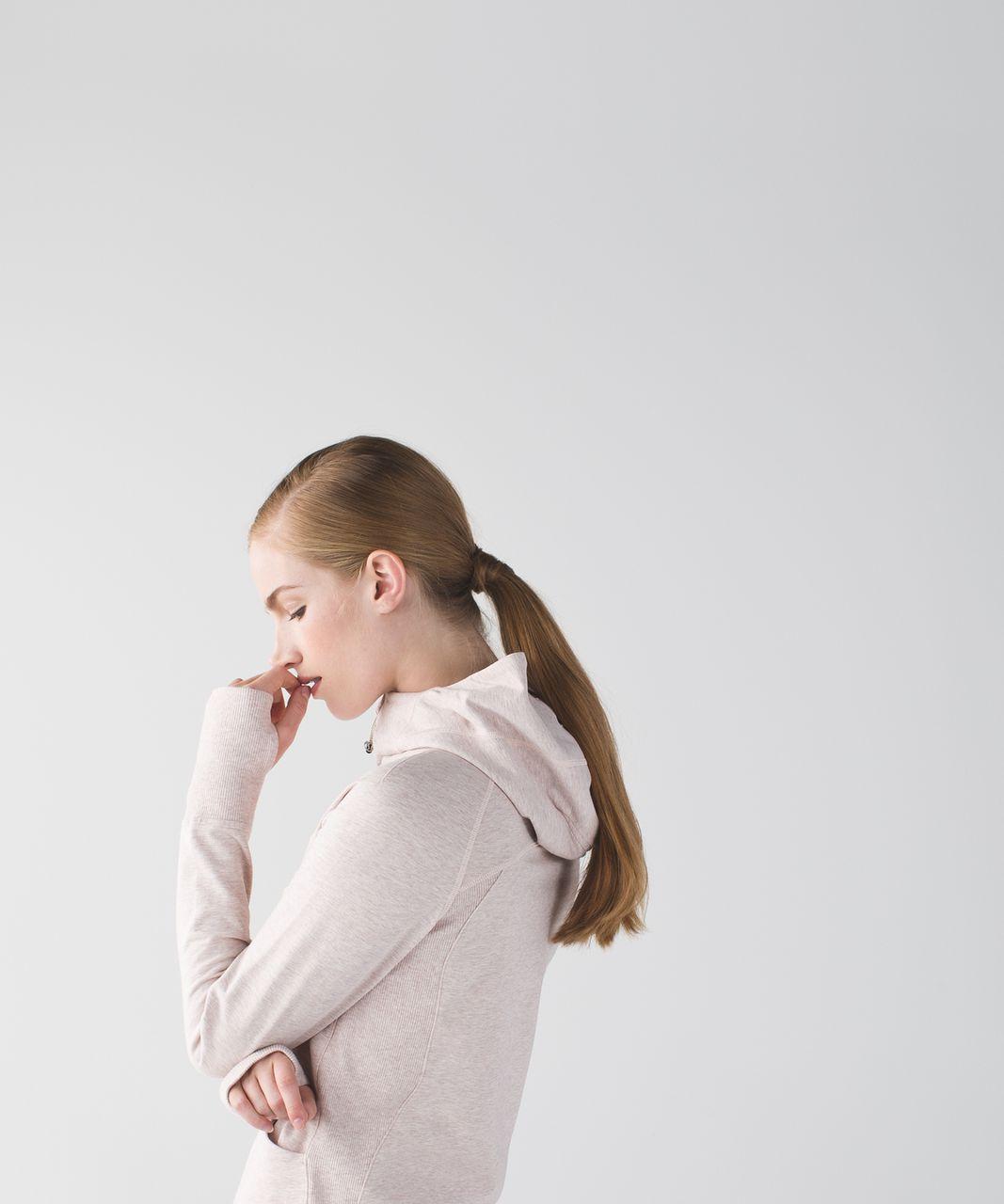 Lululemon Scuba Hoodie III *Terry (First Release) - Heathered Butter Pink