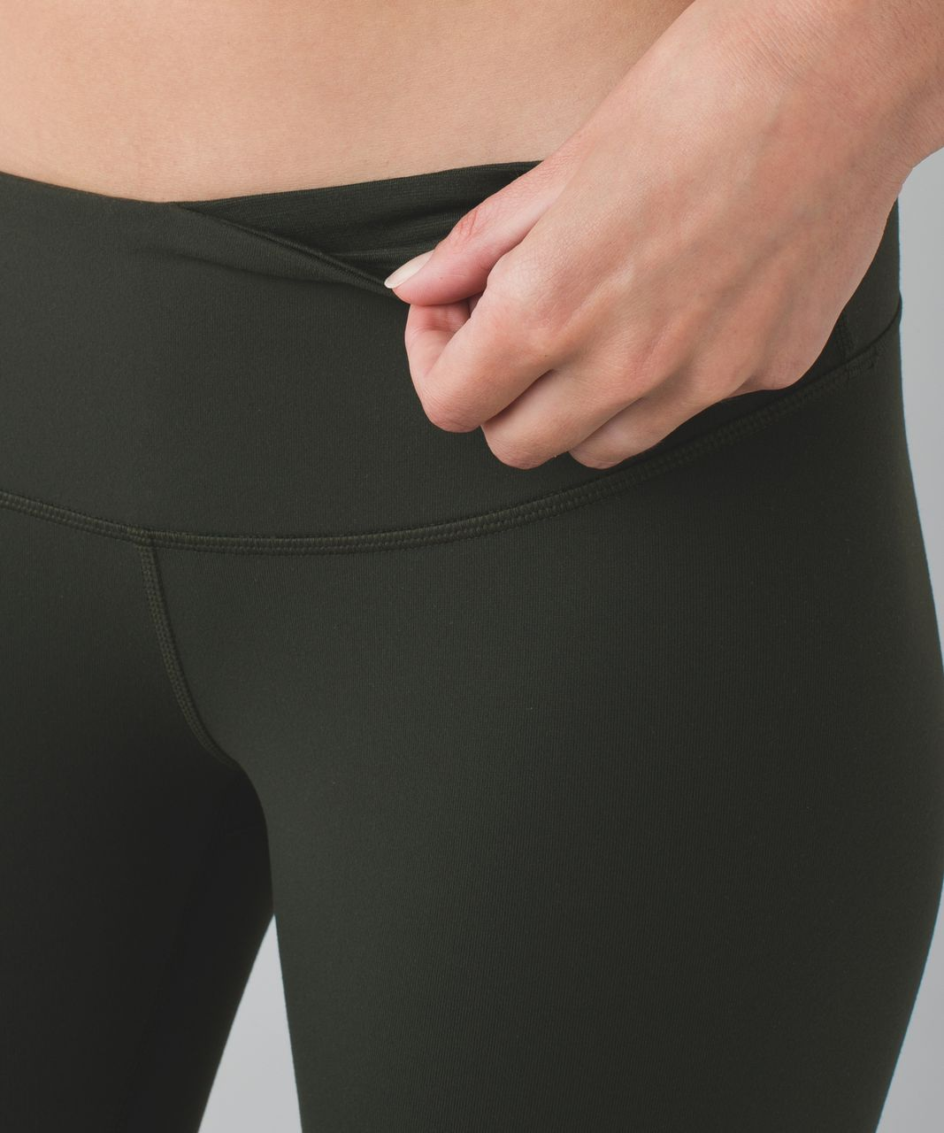 Lululemon Wunder Under Pant III *Full-On Luon - Gator Green