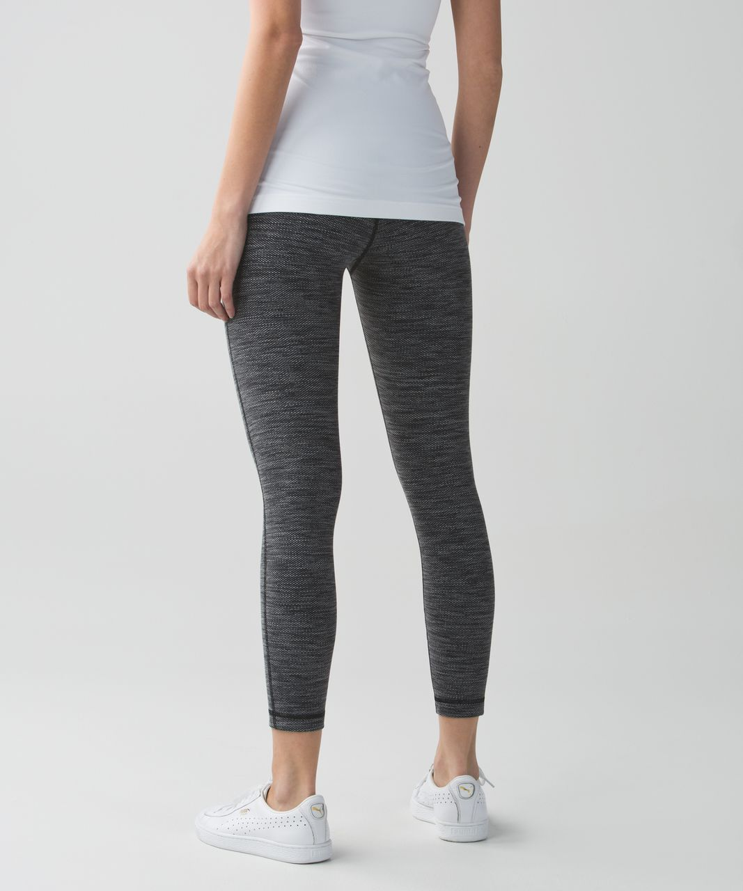 Lululemon High Times Pant - Diamond Jacquard Space Dye Black Slate