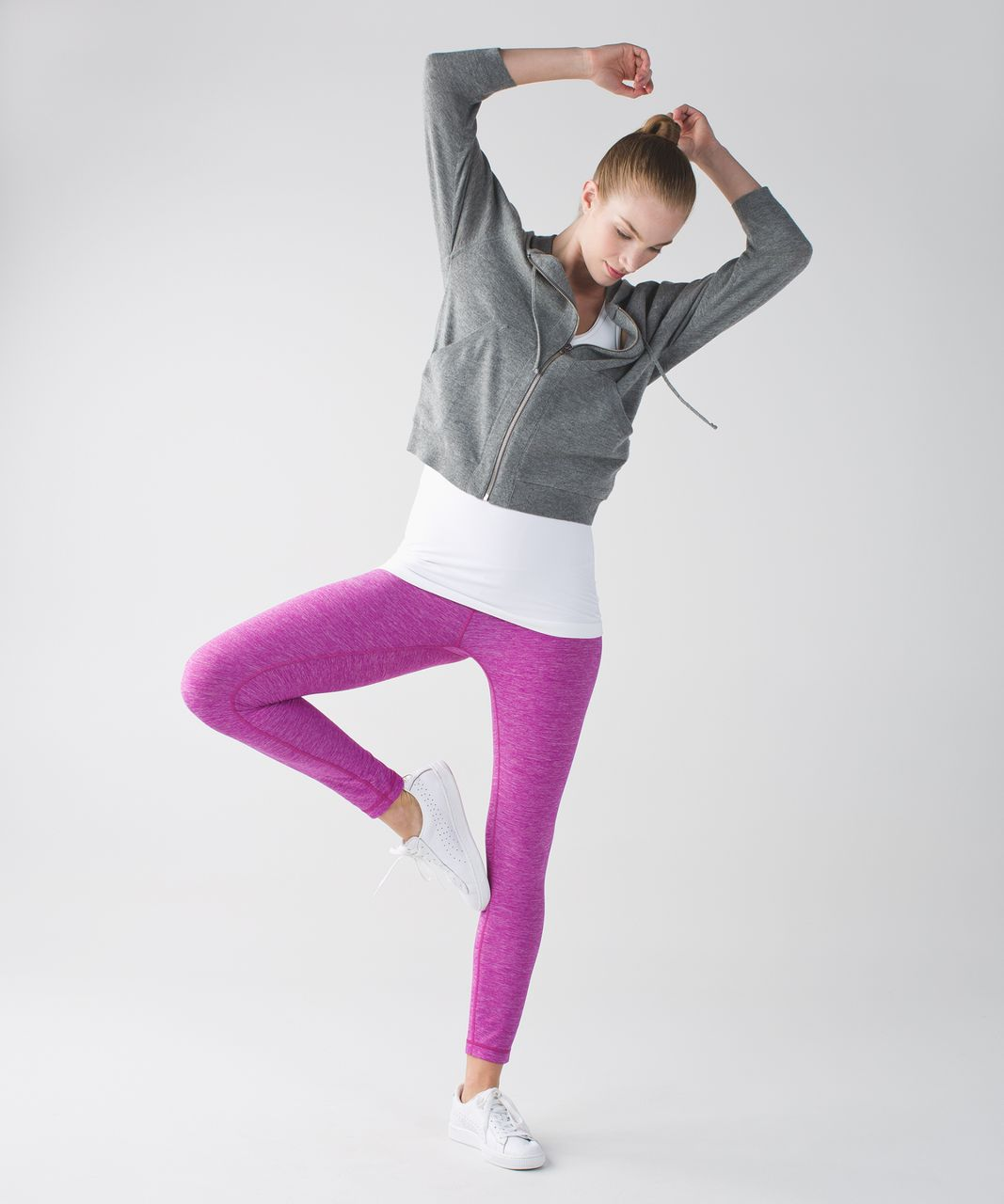 Lululemon High Times Pant - Heathered Ultra Violet