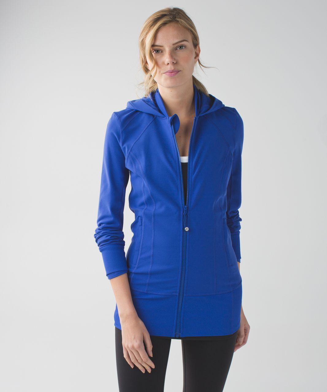 Lululemon Daily Practice Jacket - Sapphire Blue