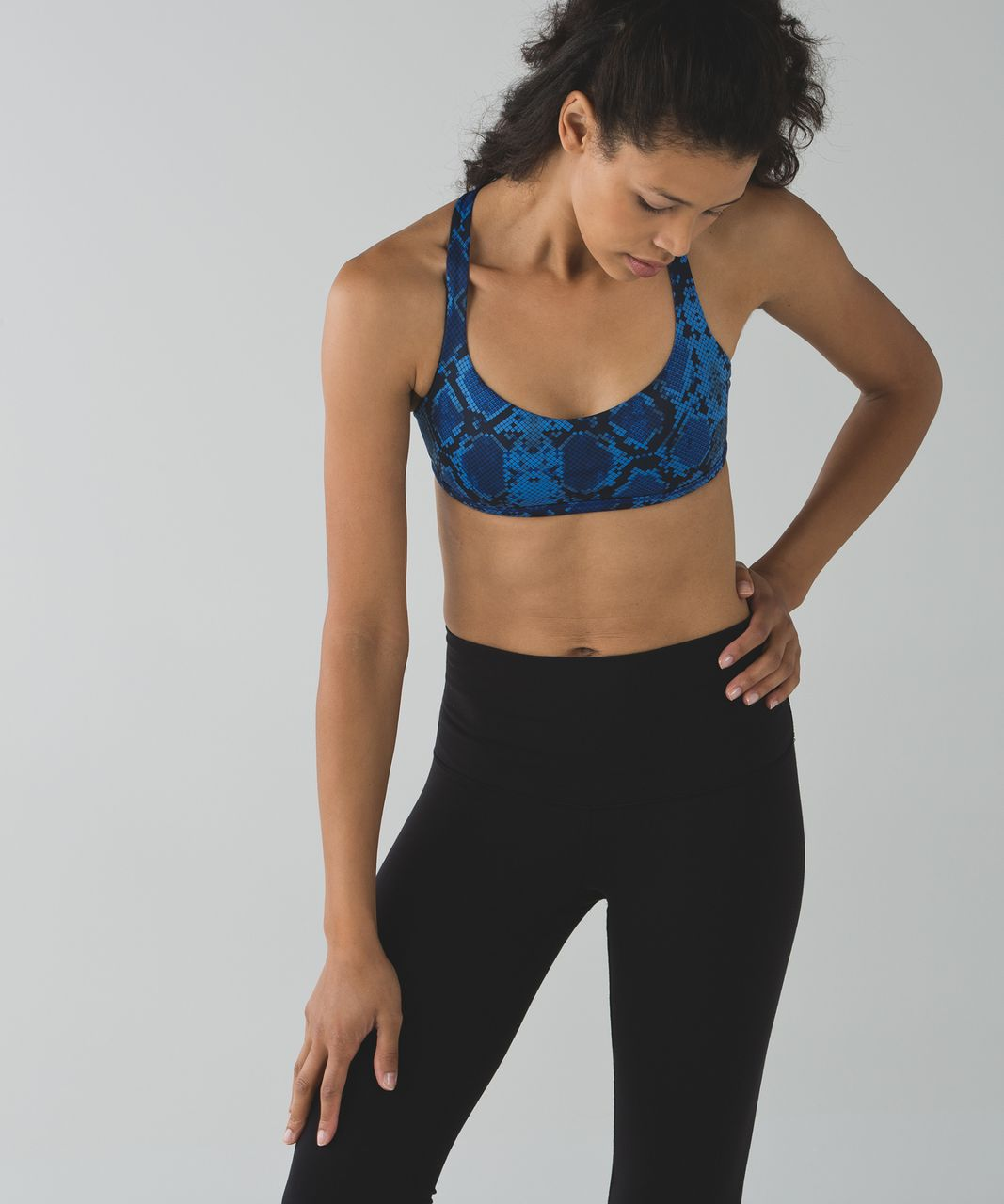Lululemon Free To Be *Wild - Mini Ziggy Snake Pipe Dream Blue Sapphire Blue / Naval Blue / Pipe Dream Blue