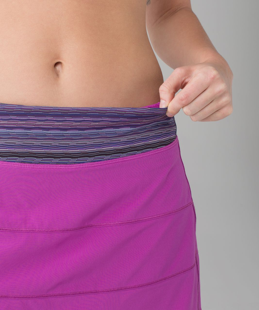 Lululemon Pace Rival Skirt II (Tall) *4-way Stretch - Ultra Violet / Space Dye Twist Ultra Violet Multi