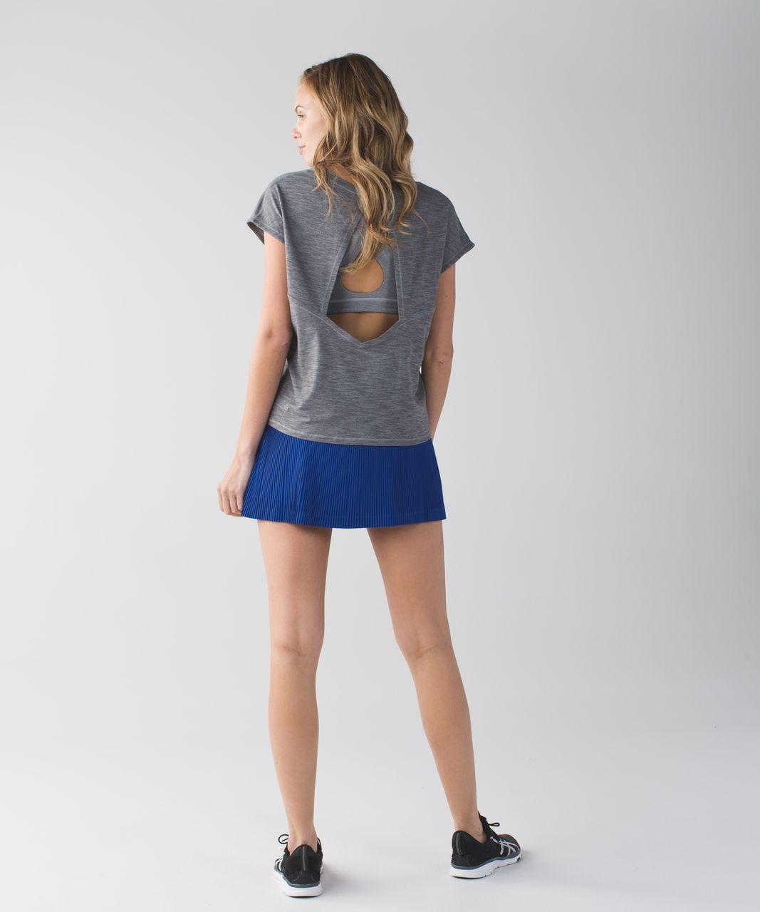 50cb9968e7 Lululemon Pleat To Street Skirt III - Sapphire Blue - lulu fanatics