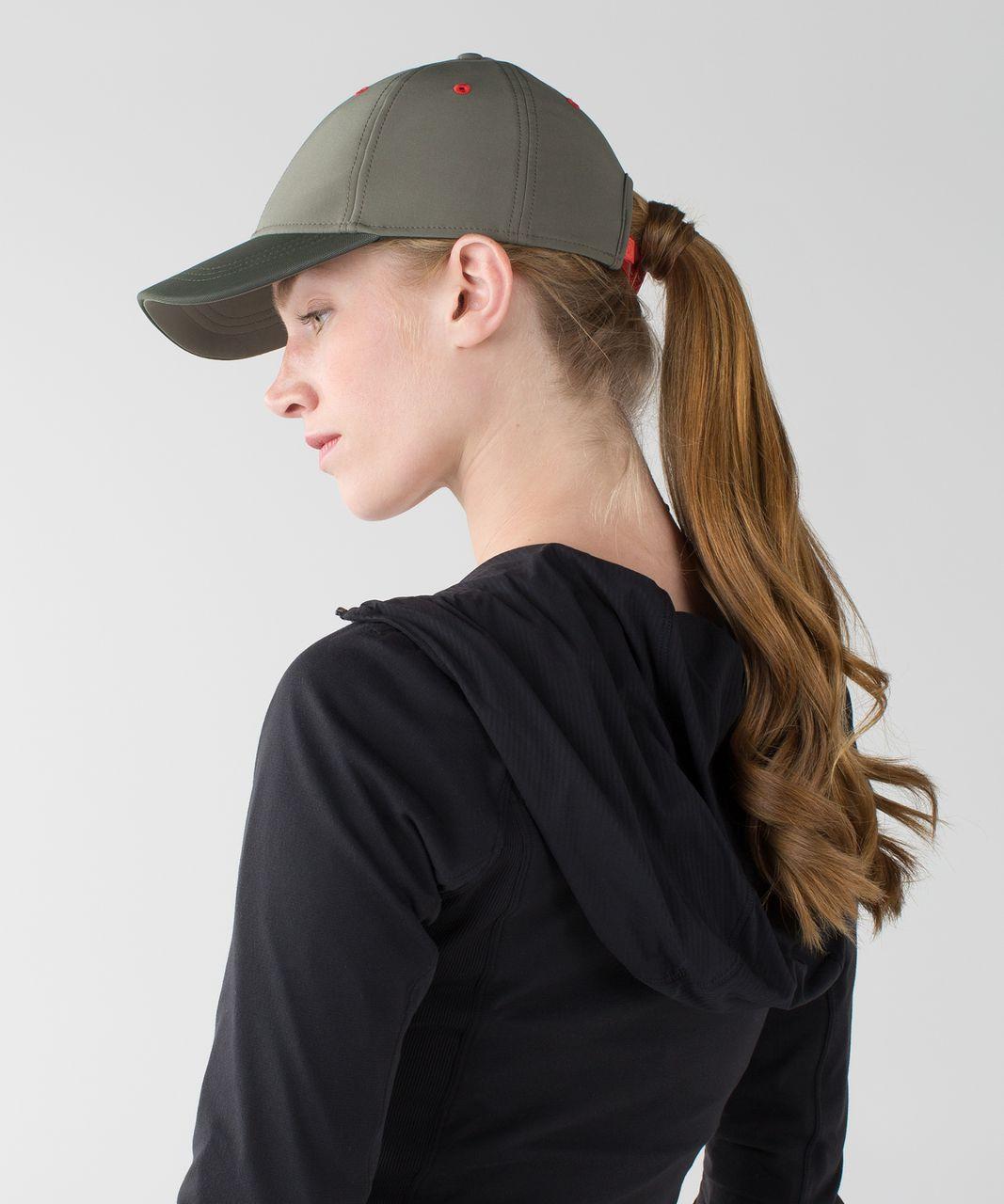 052b502016a Lululemon Baller Hat - Fatigue Green   Heathered Gator Green - lulu fanatics