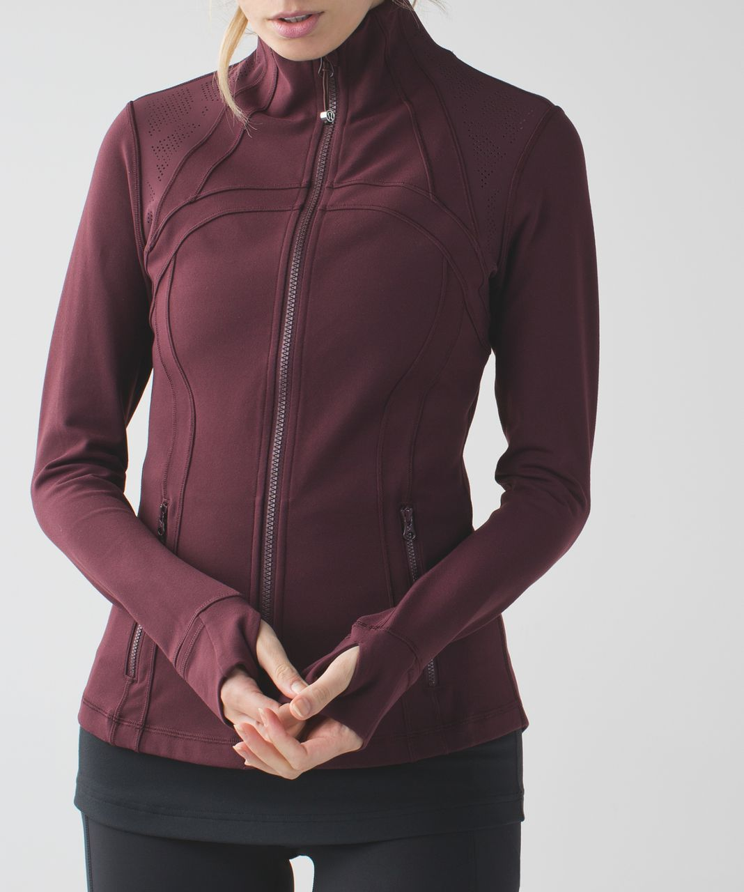 Lululemon Define Jacket *Laser Dot - Bordeaux Drama