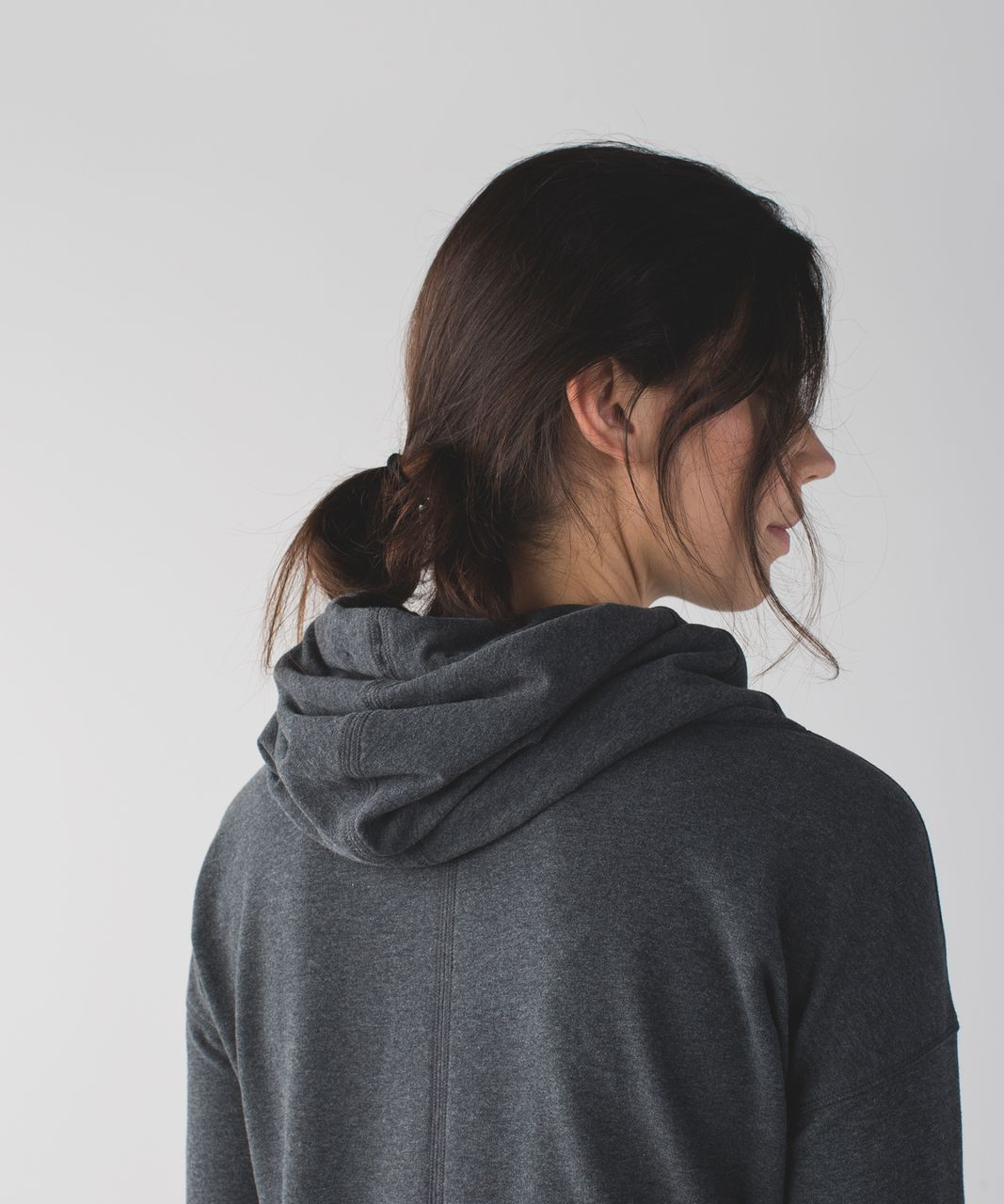 Lululemon Stress Less Hoodie - Heathered Dark Grey - lulu fanatics