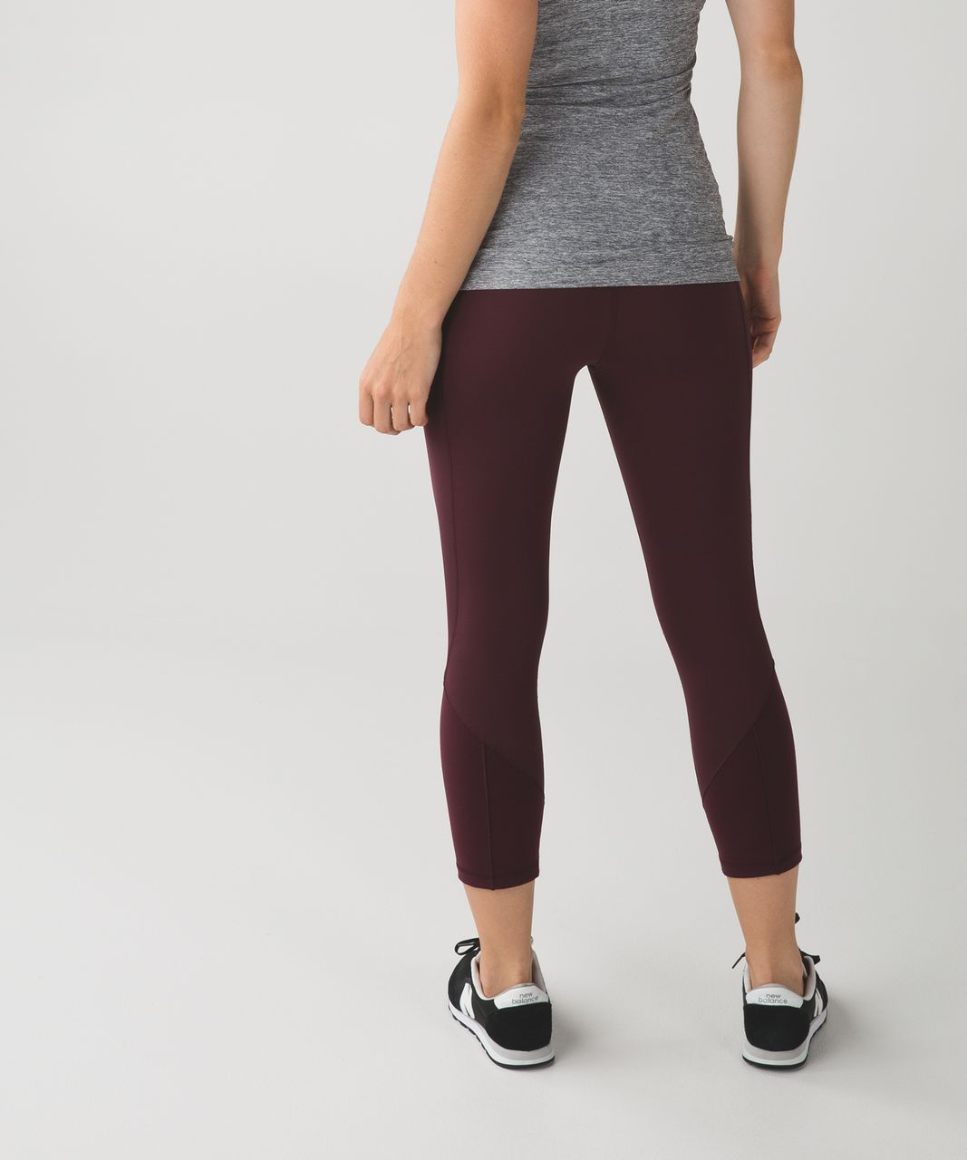 4e4fcabc6 Lululemon Give Me Qi Crop - Bordeaux Drama   Cranberry - lulu fanatics