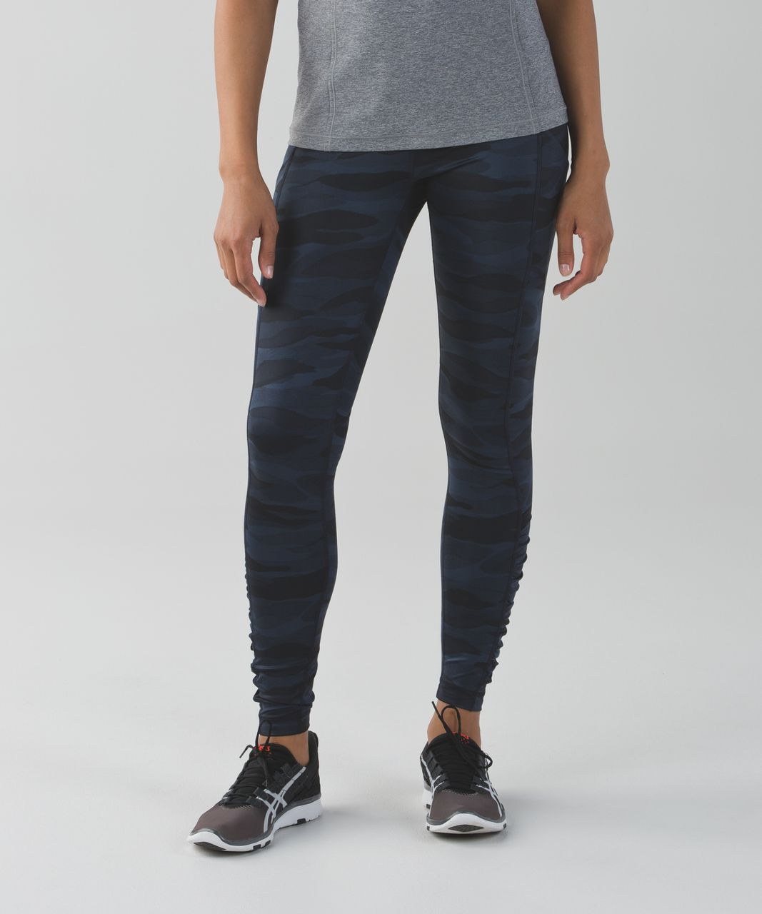 Lululemon Speed Tight IV *Full-On Luxtreme - Mini Coast Camo Deep Navy Black