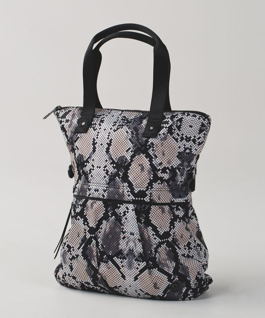 e2b3b25b78 Twice As Nice Tote - Ziggy Snake Butter Pink Black / Black