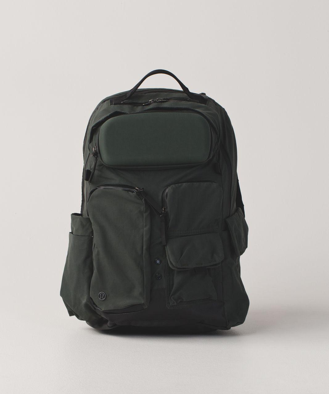 068734619a Lululemon Cruiser Backpack - Gator Green / Black - lulu fanatics