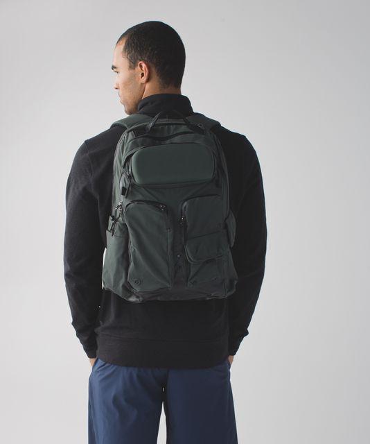 6d27947055 Lululemon Cruiser Backpack - Black - lulu fanatics