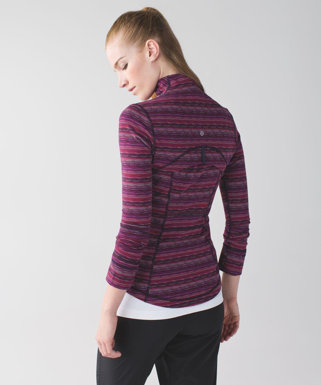 Lululemon Define Jacket - Space Dye Twist Regal Plum Alarming