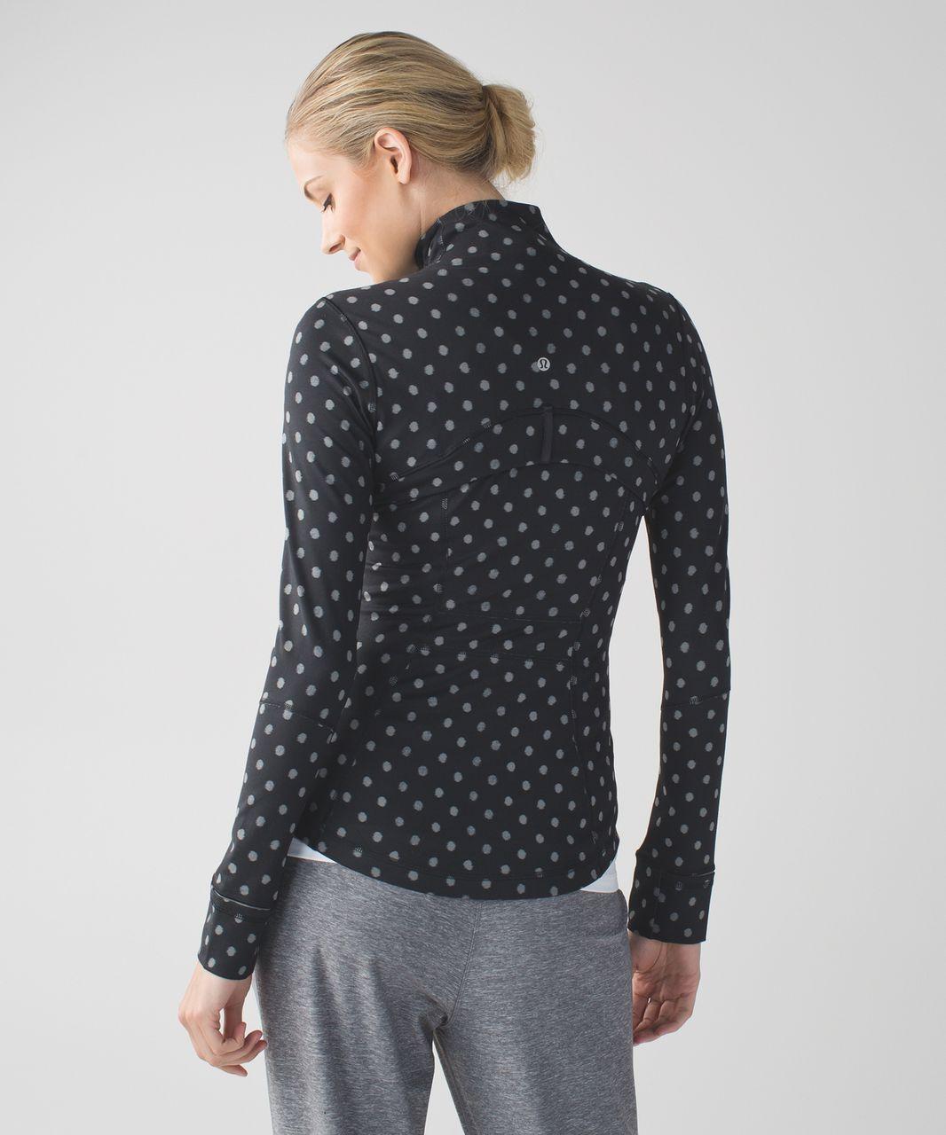 Lululemon Define Jacket - Ghost Dot Black Slate