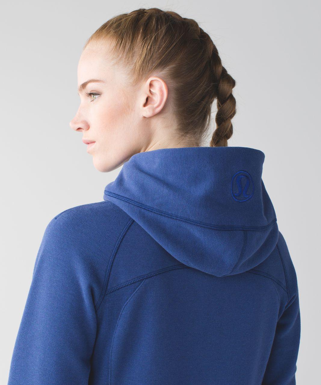 Lululemon Scuba Hoodie III - Heathered Sapphire Blue