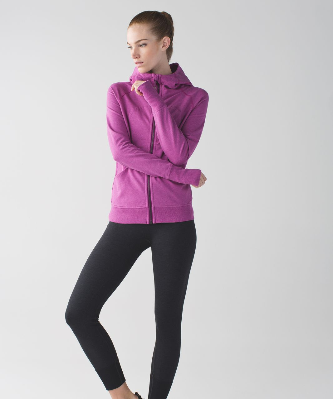 Lululemon Scuba Hoodie III *Terry - Heathered Ultra Violet
