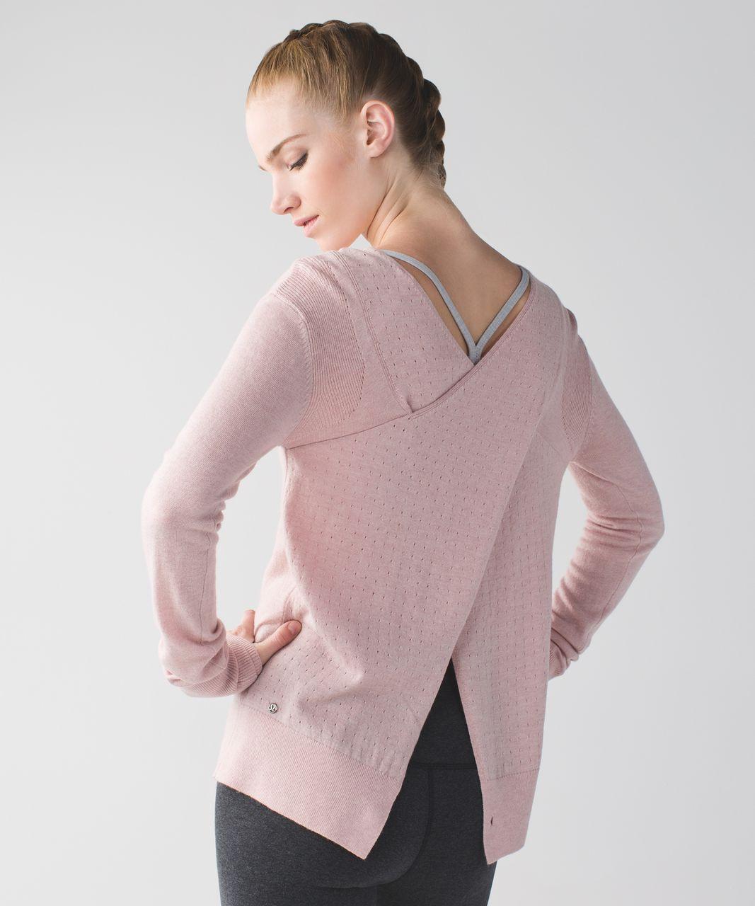 Lululemon Sunset Savasana Pullover - Heathered Mink Berry
