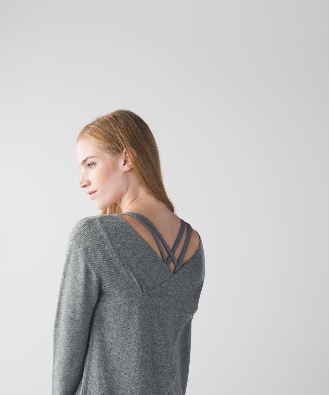 Lululemon Sunset Savasana Pullover - Heathered Medium Grey