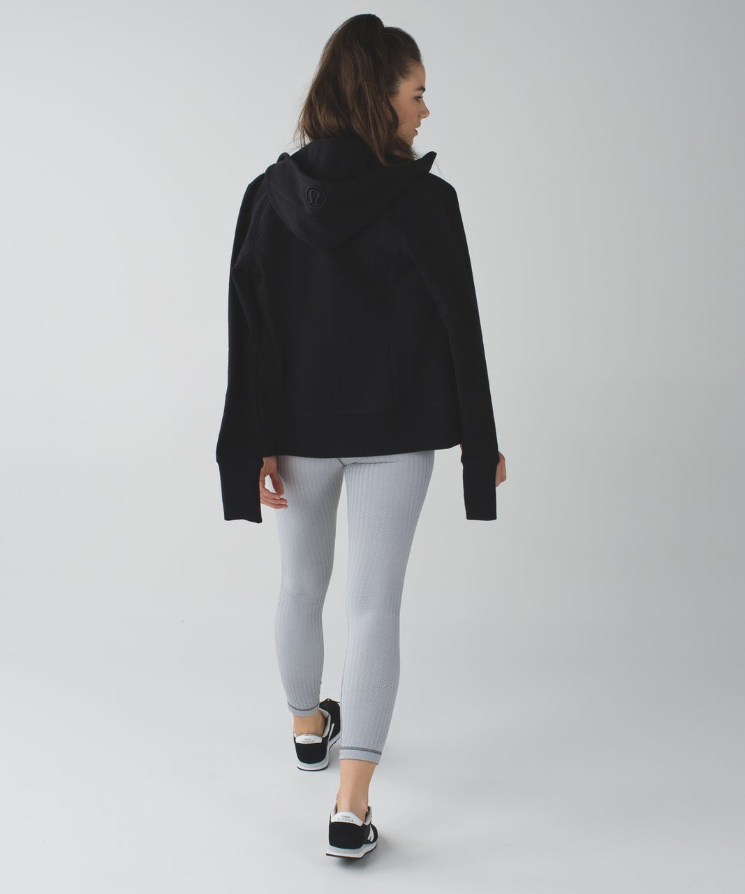Lululemon High Times Pant - Heathered Herringbone Heathered White Slate