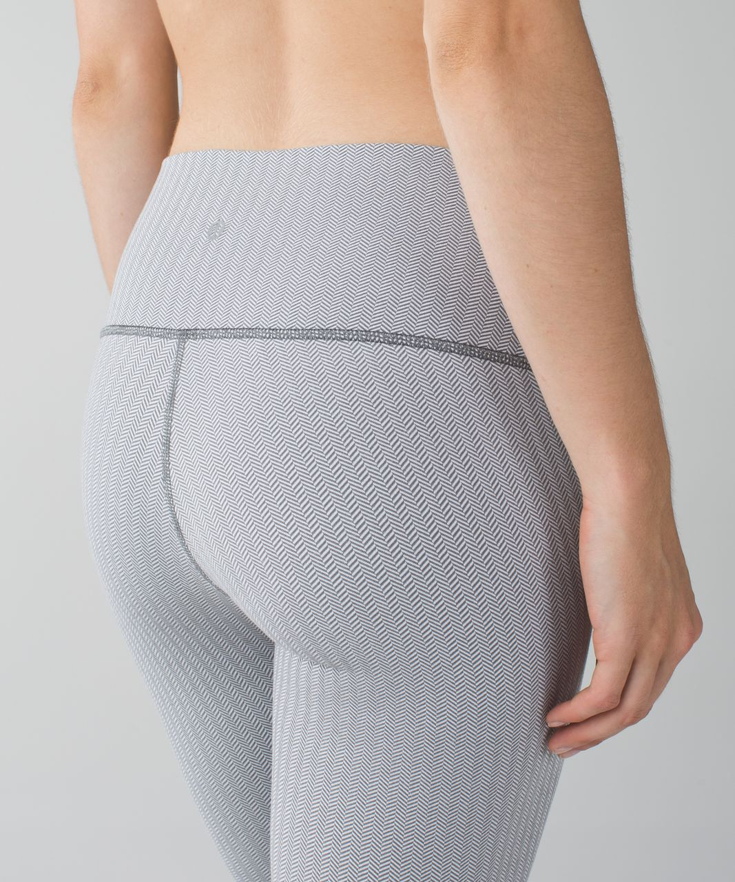 Lululemon High Times Pant - Heathered Herringbone Heathered White Slate