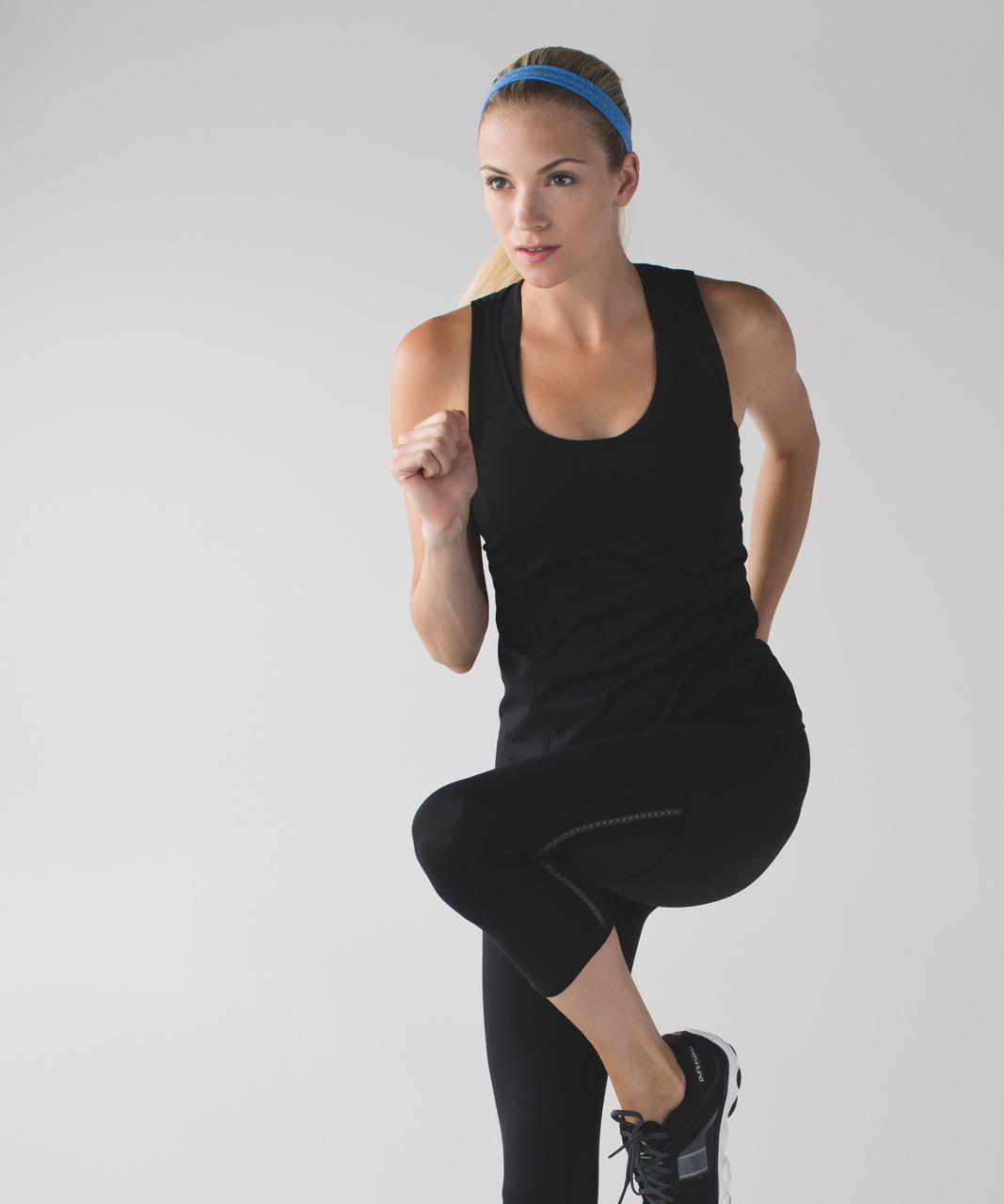 Lululemon Cardio Cross Trainer Headband - Heathered Pipe Dream Blue