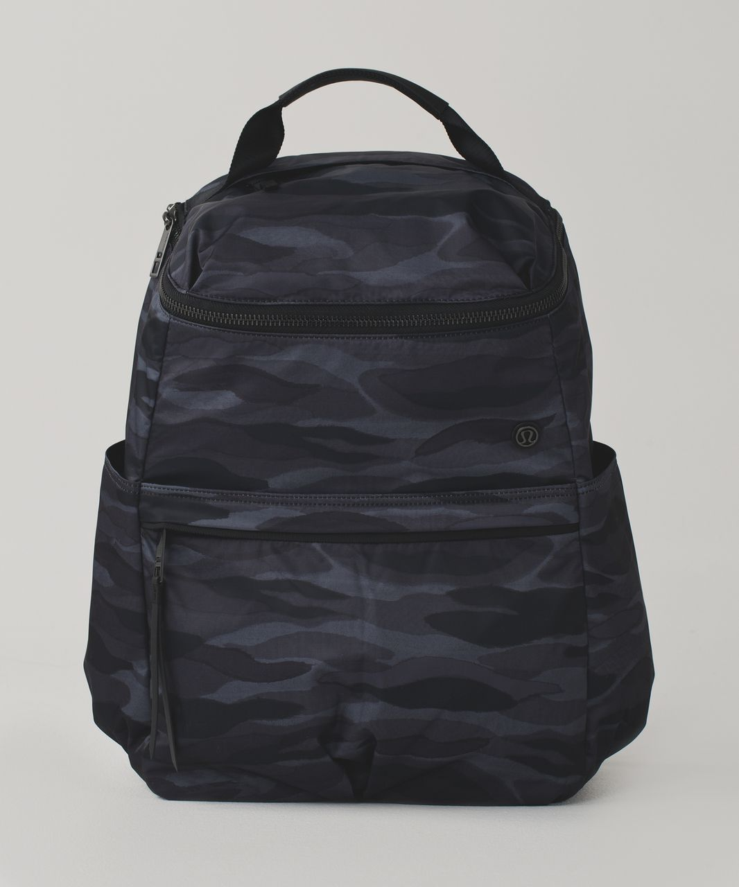 Lululemon Around Town Backpack - Mini Coast Camo Dark Slate Black