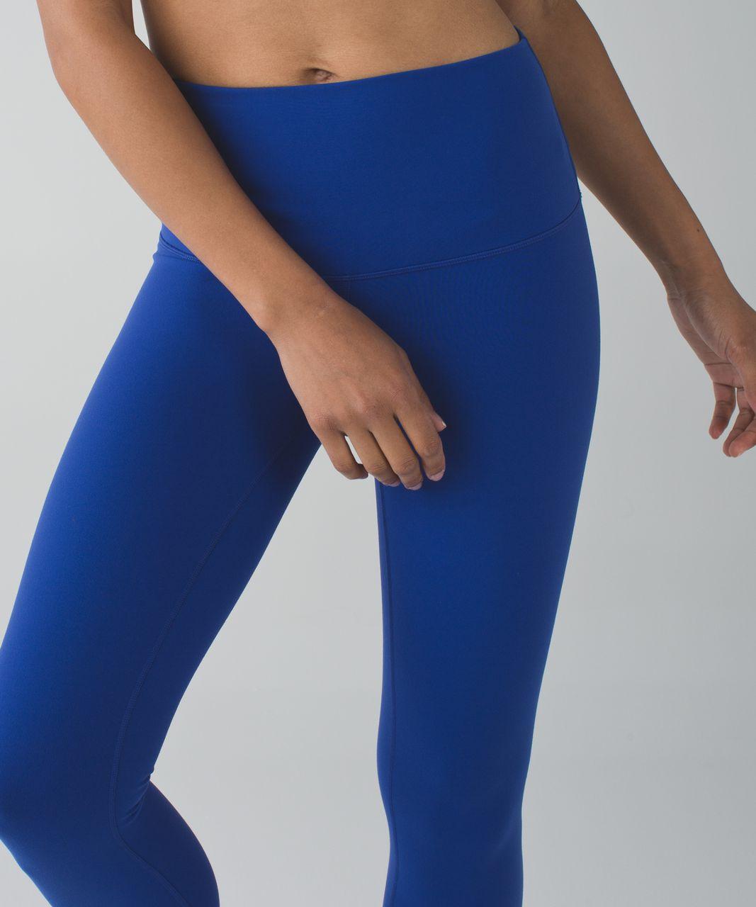 Lululemon Wunder Under Pant (Hi-Rise) *Full-On Luon - Sapphire Blue