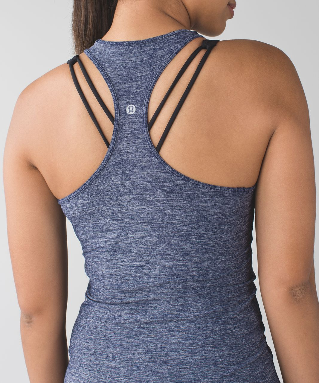 Lululemon Cool Racerback - Heathered Deep Navy (First Release)