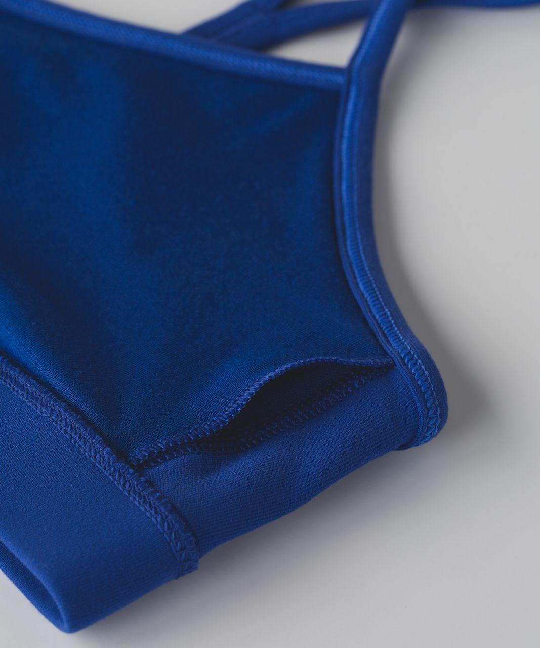 Lululemon Flow Y Bra IV - Sapphire Blue