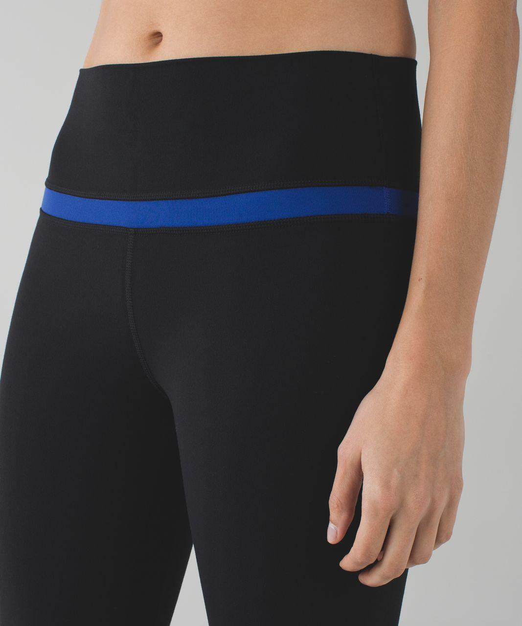 Lululemon Align Pant - Black / Sapphire Blue