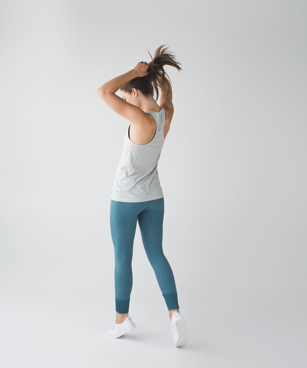 Lululemon Ebb To Street Pant - Heathered Desert Teal