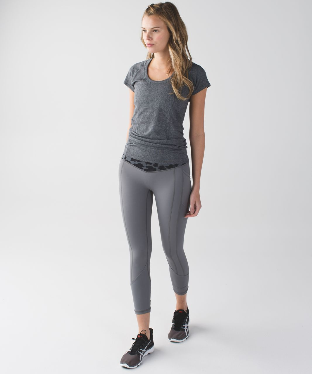 Lululemon All The Right Places Crop - Slate