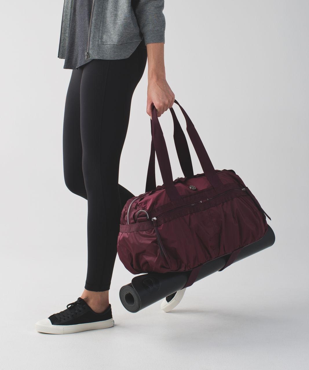 a84f70fce85 Lululemon Gym To Win Duffel - Wine Berry / Bordeaux Drama - lulu ...