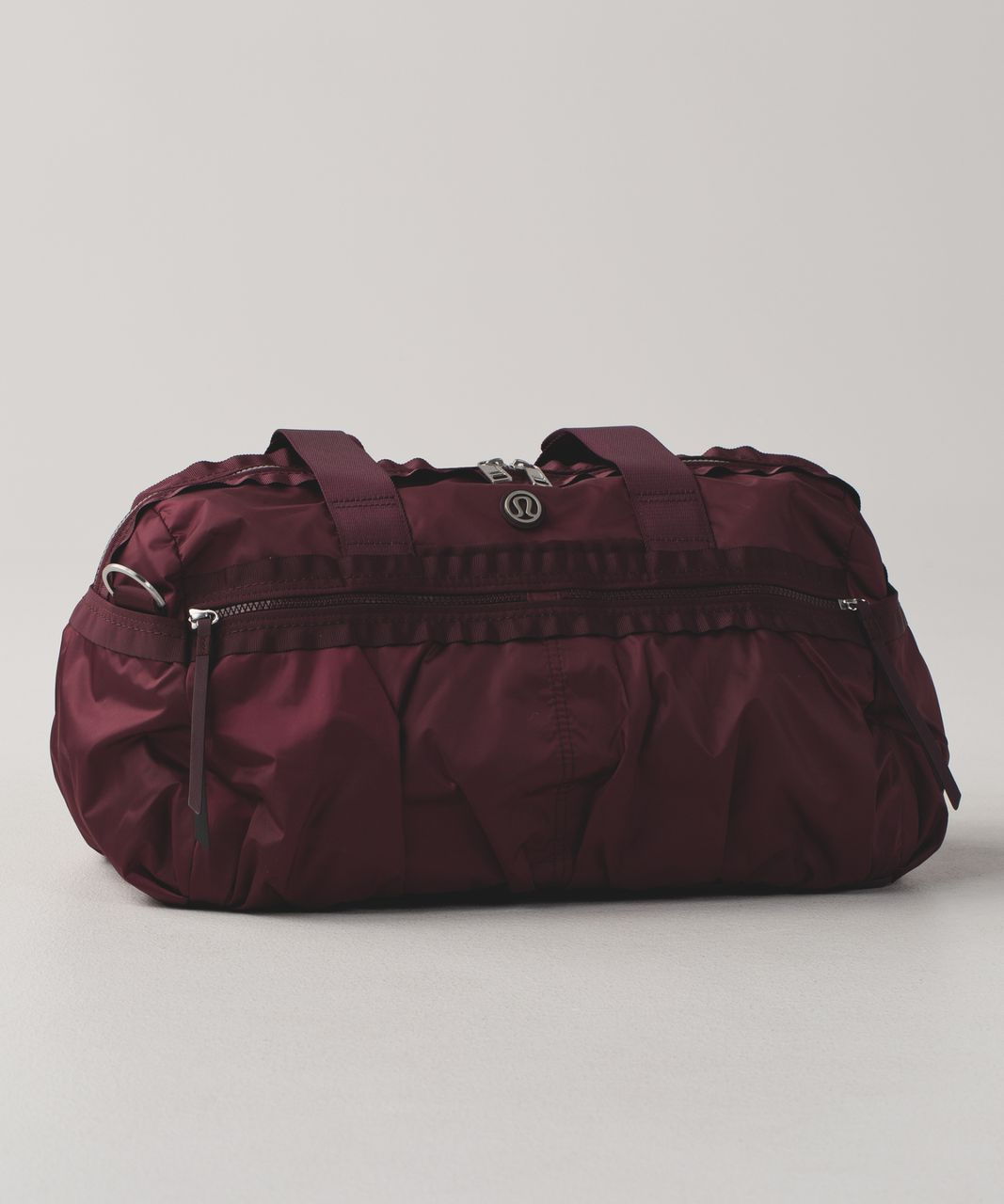 00c4ddb7b0a Lululemon Gym To Win Duffel - Wine Berry / Bordeaux Drama - lulu fanatics
